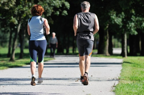 Chronic Pain Schaumburg Couple Jogging